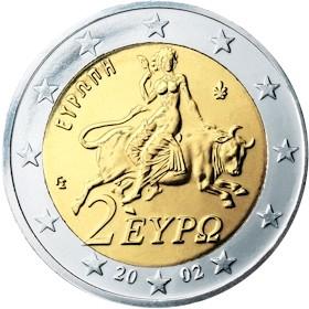 Griechische 2 Euro Münze Allmystery