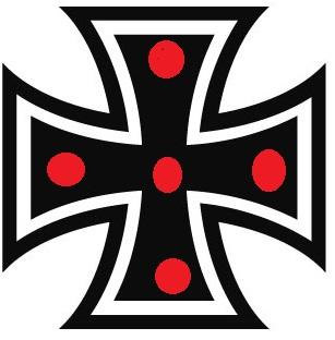 Eisernes Kreuz Mit Roten Punkten Allmystery