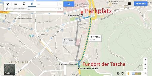 Heidelberg Vermisst