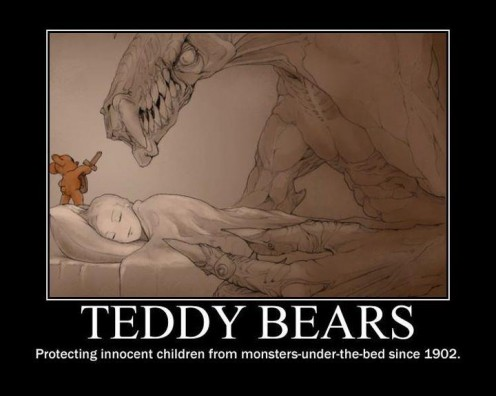 96954,1357289921,Teddy-Bears-Protecting-Innocent-Children-From-Monsters-Under-The-Bed-Since-1902-496x396