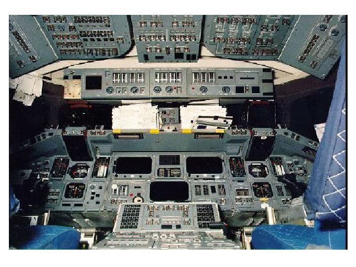 space shuttle columbia cockpit footage - photo #4