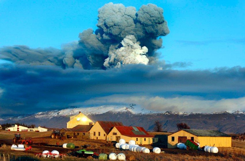 Vulkanausbruch Island 2010