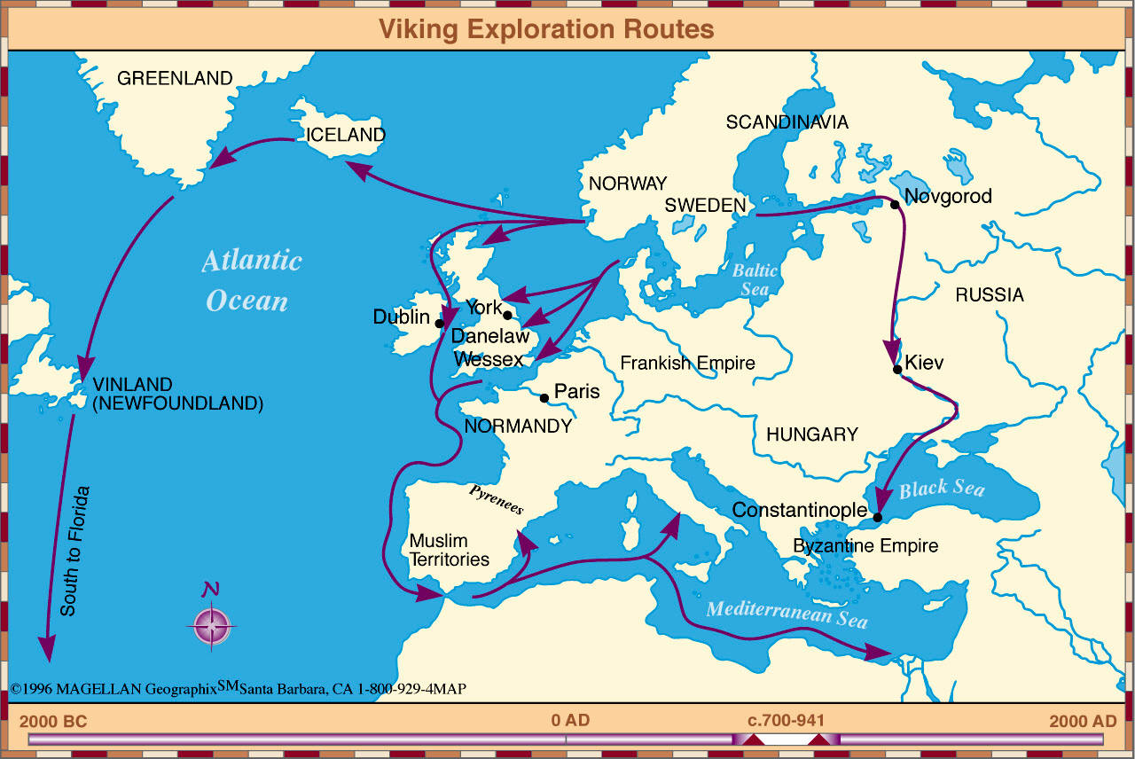 an overview of the vikings in ancient history of the europe and scandinavia History of scandinavia including the people of this northern peninsula feature prominently in the history of their southern when the vikings begin to.