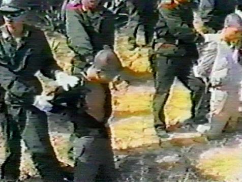 Nordkorea Hinrichtung Flammenwerfer