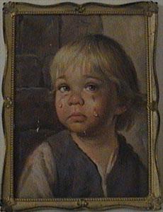 Bragolin bild weinendes kind Verfluchte Bilder