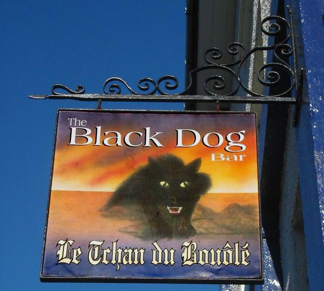 Black Dog Pub Bouley Bay Jersey