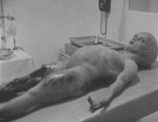 Mal ein foto von 1947 das ein angeblicher alien zeigt