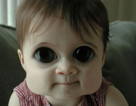 Alien baby in mexico