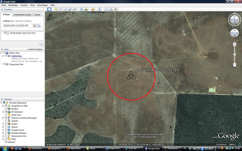 google earth koordinaten mysteri ser undefinierbarer bilder allmystery