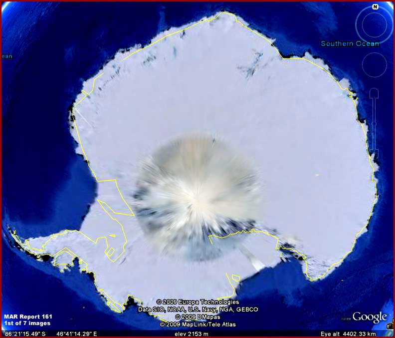 Earth Hole North Pole Hole in North And South Pole