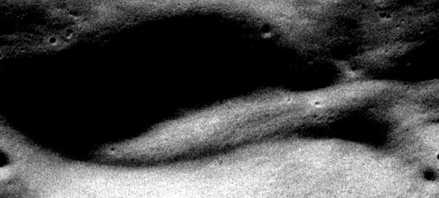 alien raumschiff auf dem mond