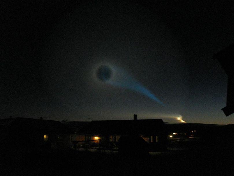 Foto der Lichtspirale
