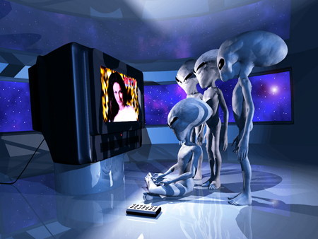 uf66682,1286816541,aliens watching tv fantasy picture
