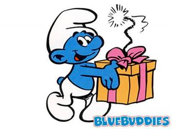 uh58683,1260571530,Smurfs Color Pictures Jokey Smurf