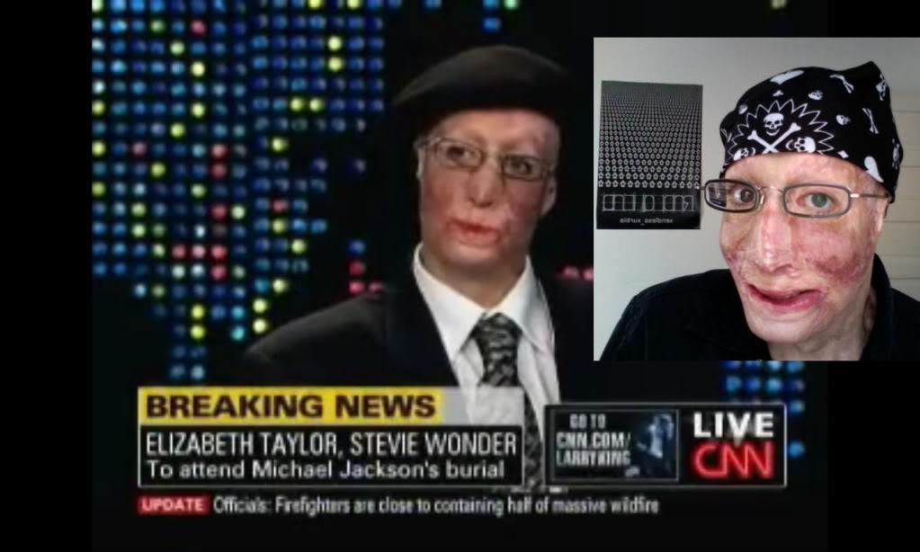 عکس لو رفته از چهره مایکل جکسون پس از مرگ!؟