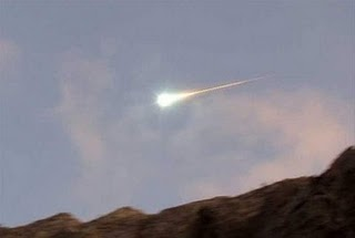 Meteorit Eingeschlagen