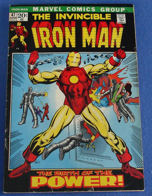 uh60450,1266593314,MARVEL COMIC BOOKS INVINCIBLE IRON MAN ISSUE 47.JPG