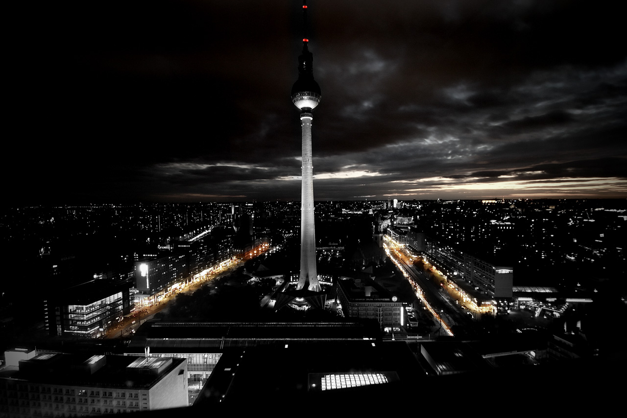 berlin by night ii by zwanzig