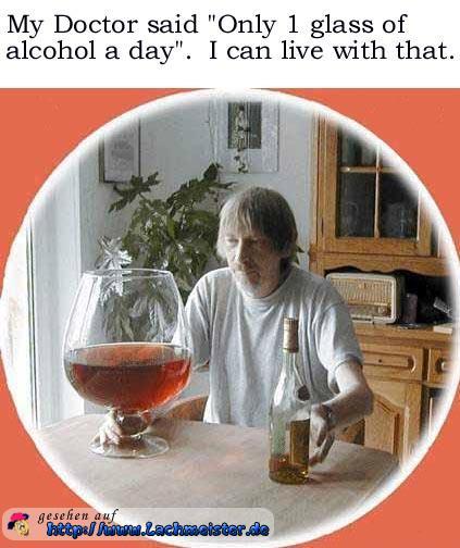 wieviel alkohol täglich