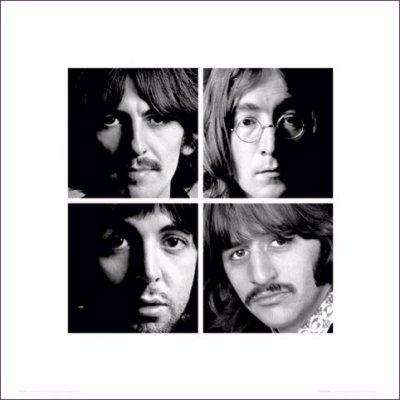 vo64088,1279033339,The-Beatles-Four-Faces-Poster-379709