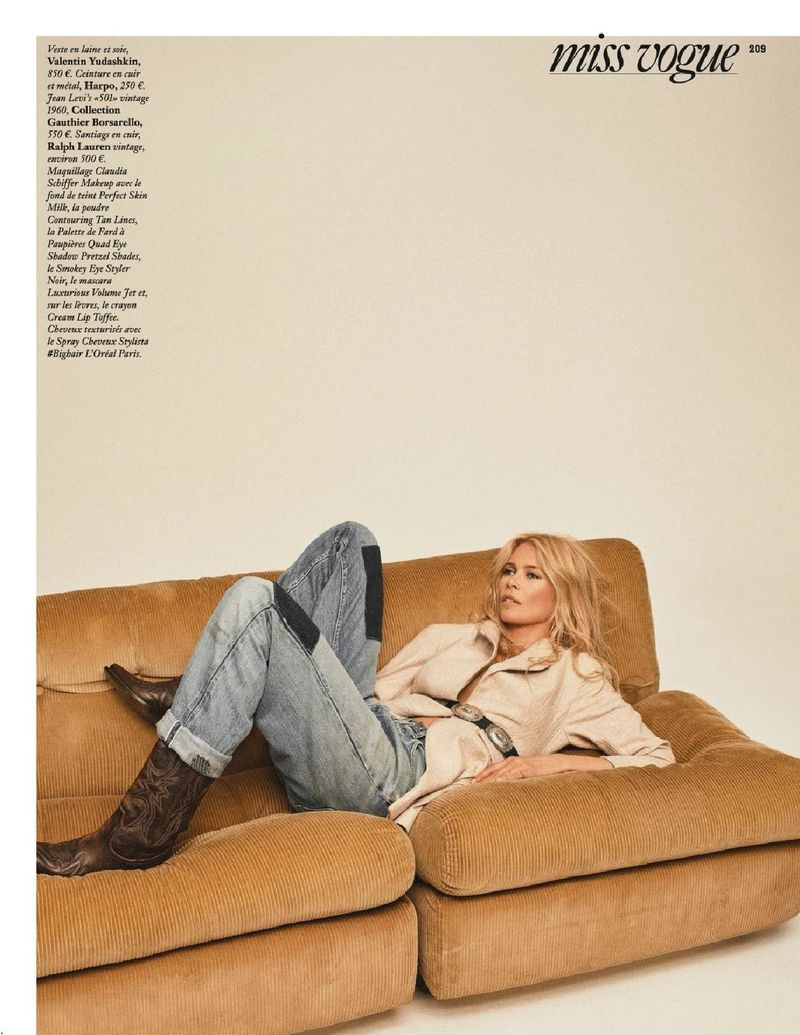 claudia schiffer miss vogue fr sept 18 3