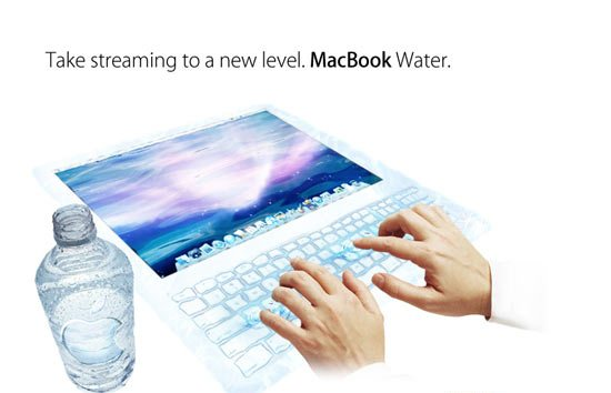 macbook water