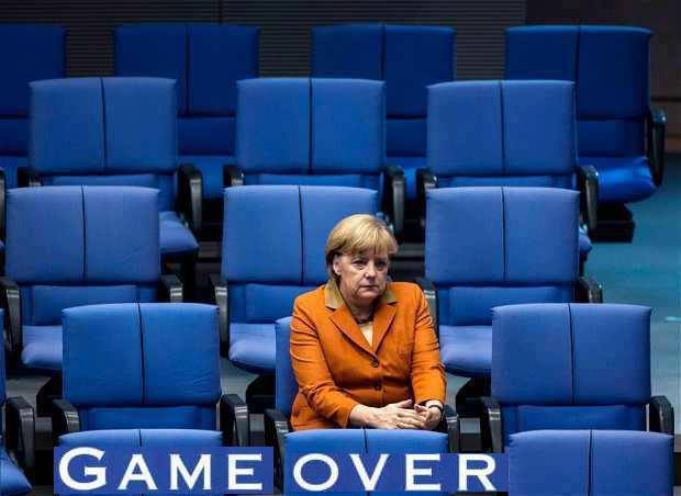 merkel muss weg game over