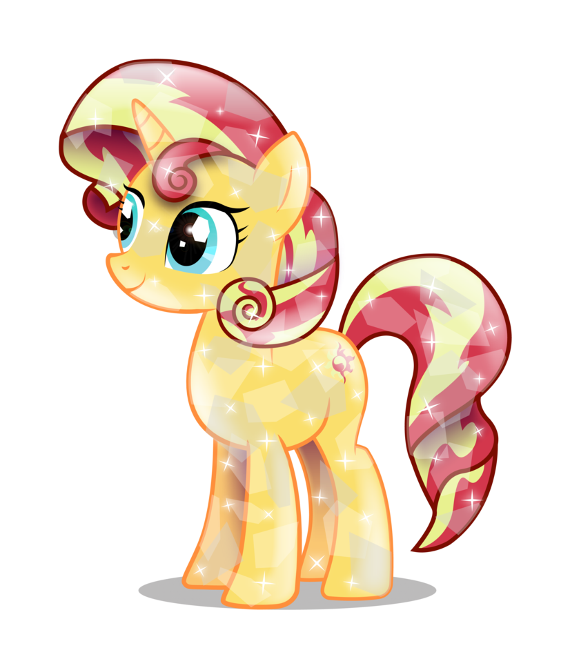 crystal sunset shimmer by infinitewarloc