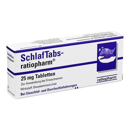 Ratiopharm Schlaf Tabs Werde Garnicht Wach