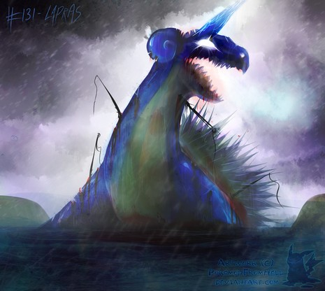 no  131   lapras by pokemonfromhell-d3gg