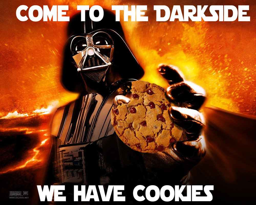 Come to the DarkSide cookies