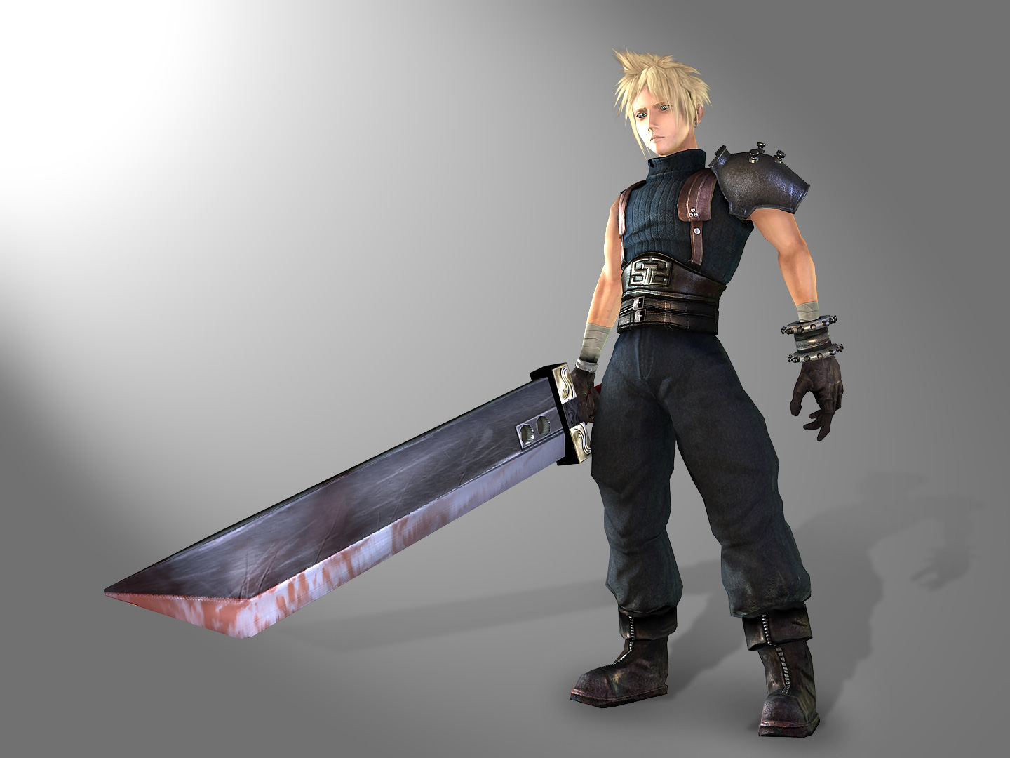 Cloud FF7 REMAKE by genci