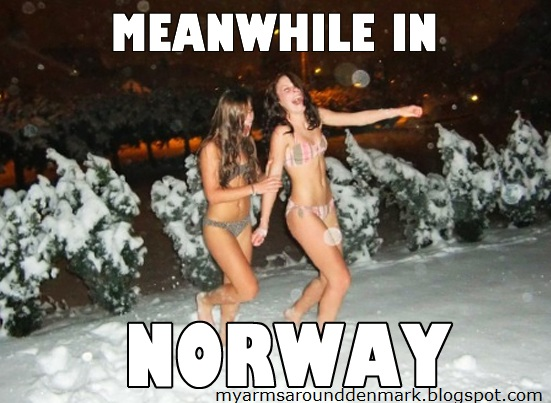 meanwhile in norway nel frattempo in nor