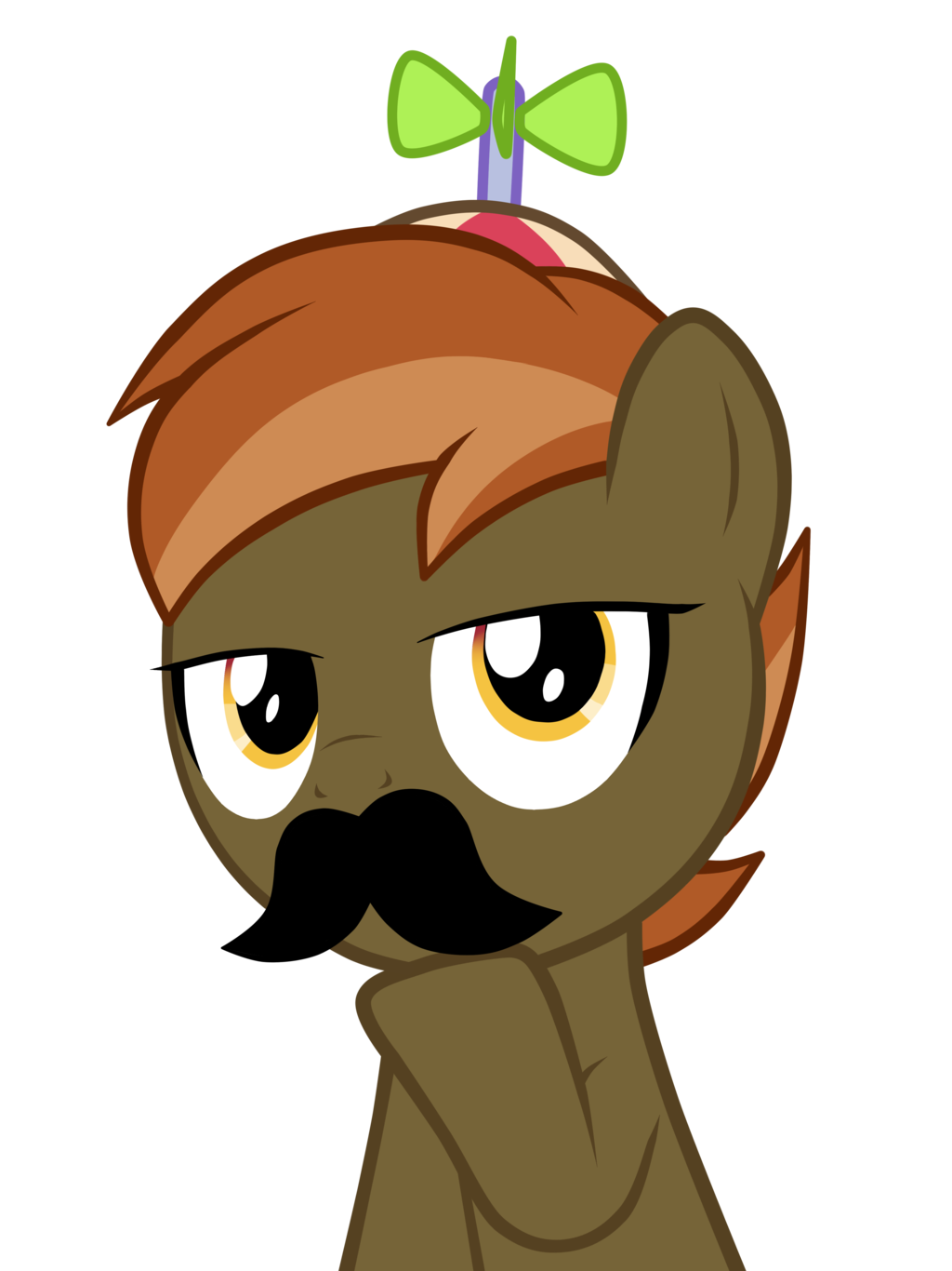 button mash moustache vector by strachat