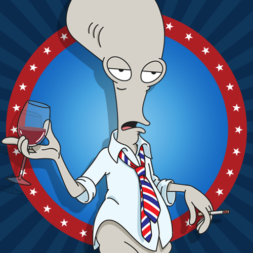 228 best Roger Smith images on Pinterest  Roger Smith American Dad
