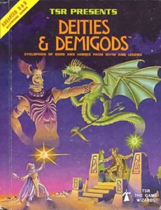 Deities 26 Demigods front cover first ed