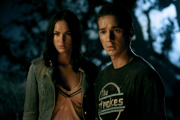 megan fox and shia labeouf transformers