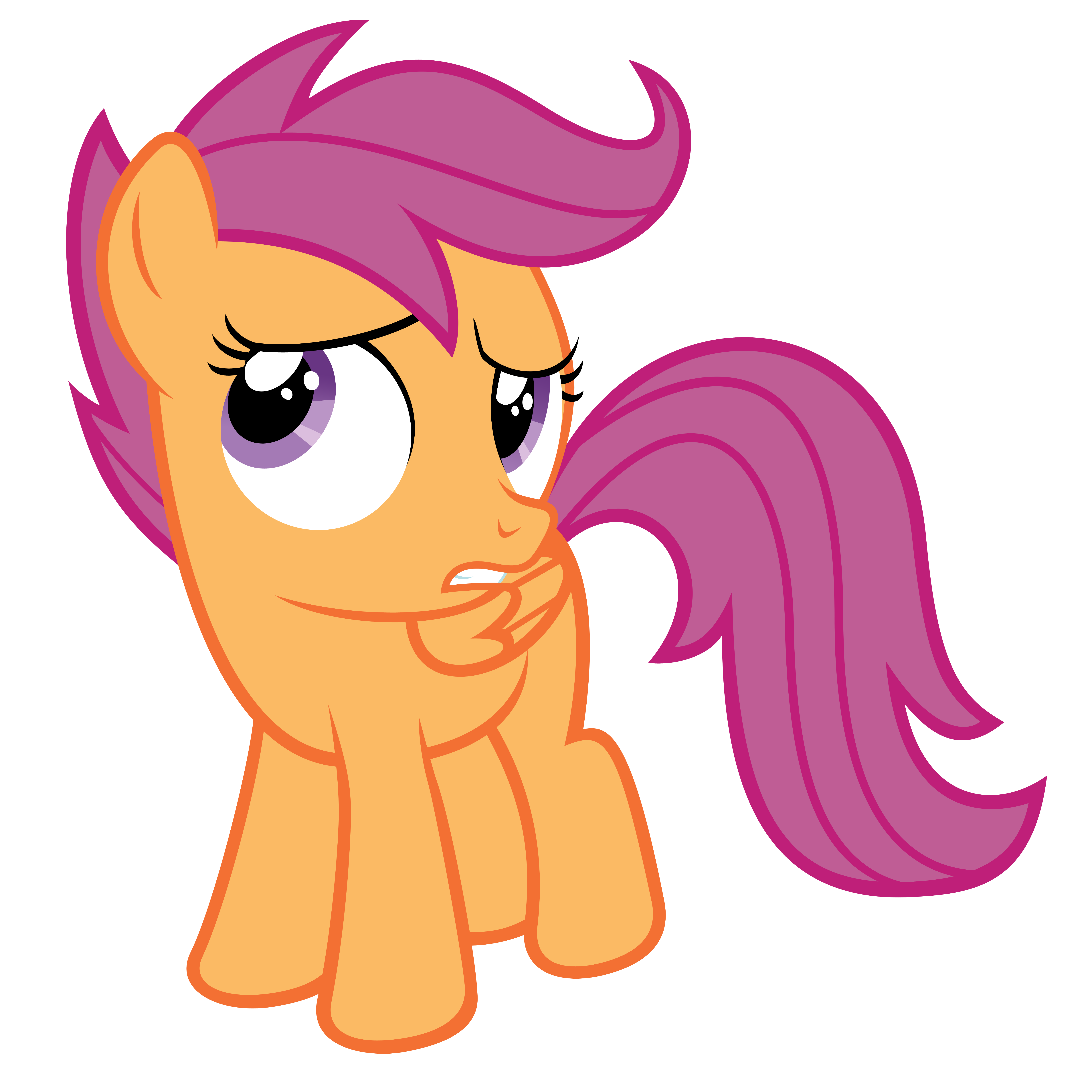 scootaloo doubtful by otfor2-d5ns1bi