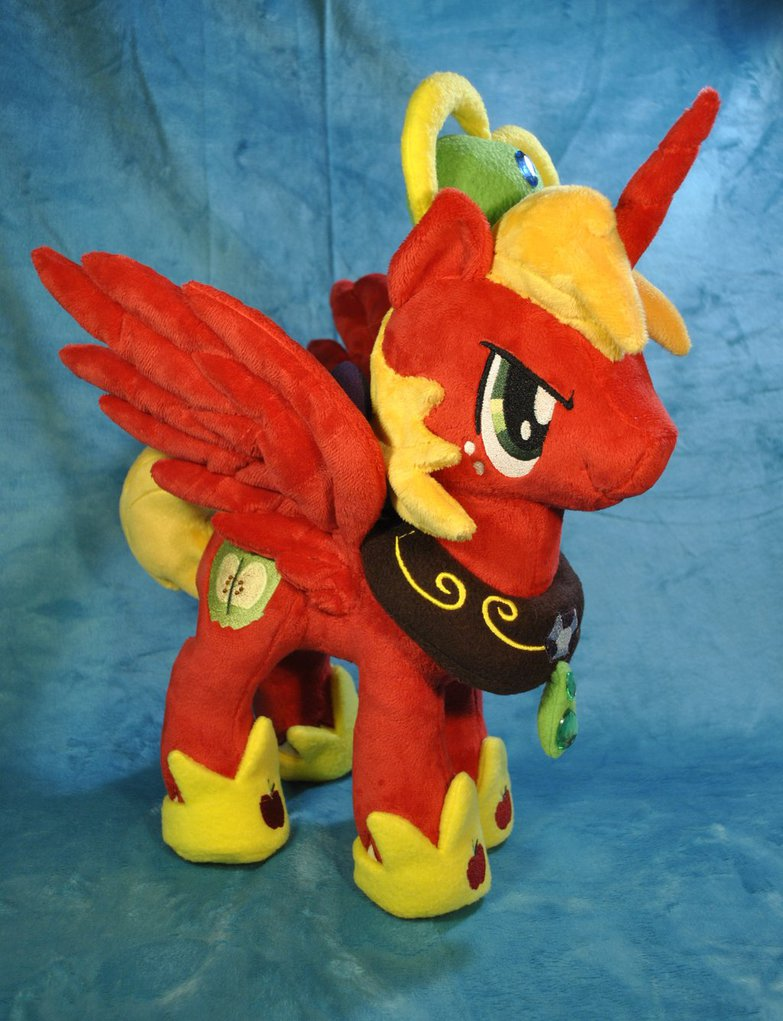 princess big macintosh plush by ketikake