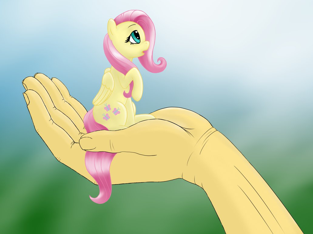 tiny fluttershy by sallemcat-d8wwr8c