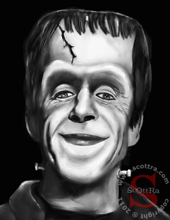 herman munster by scottra-d3cvncp