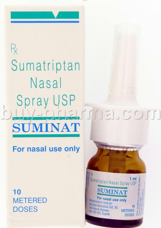 Sumatriptan Nasal Spray 5 Mg - CanadaDrugs: Canadian