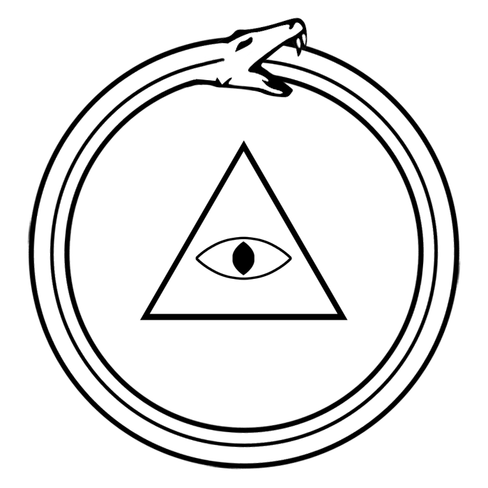 tumblr static eye of providence   ourobo