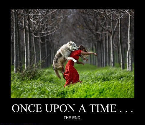 funny-wolf-eating-Little-Red-Riding-Hood