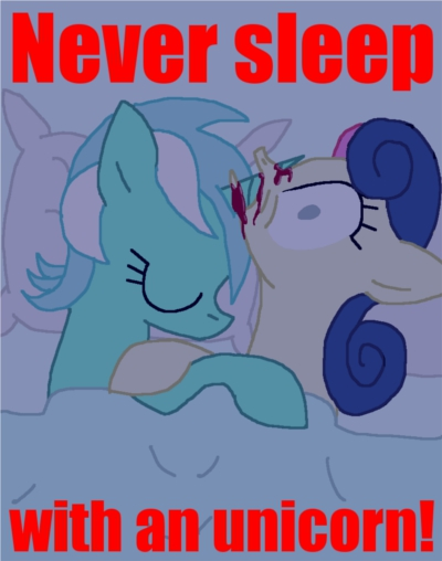 never sleep with an unicorn by cgeta-d3l