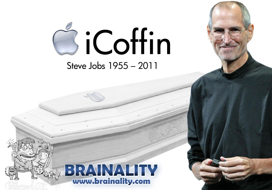icoffin steve jobs brainality
