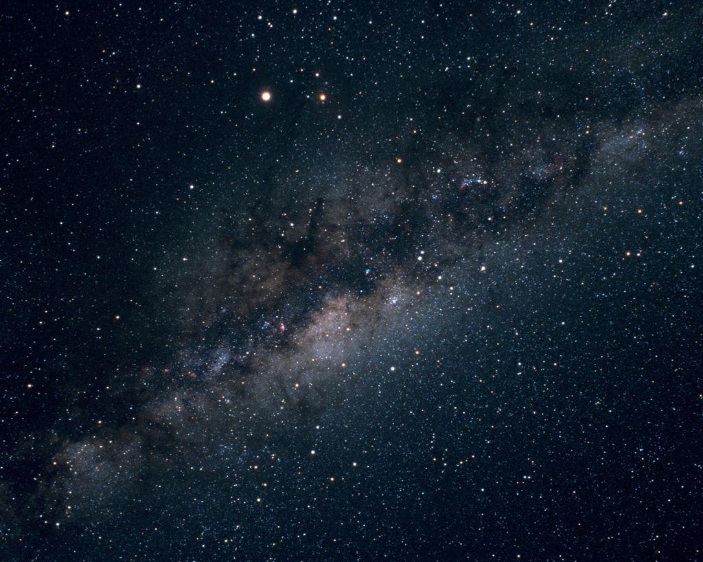 Milchstraße Von Der Erde Aus
