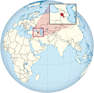330px Armenia on the globe Afro Eurasia