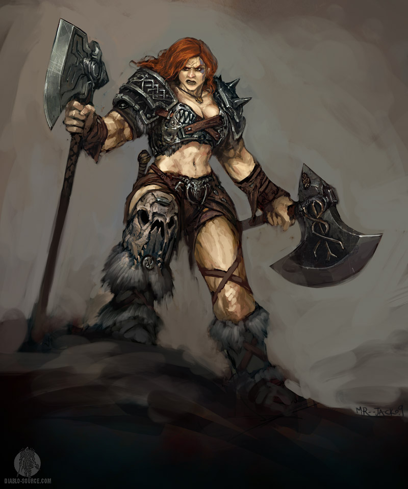 Barbarian by Mr  Jack