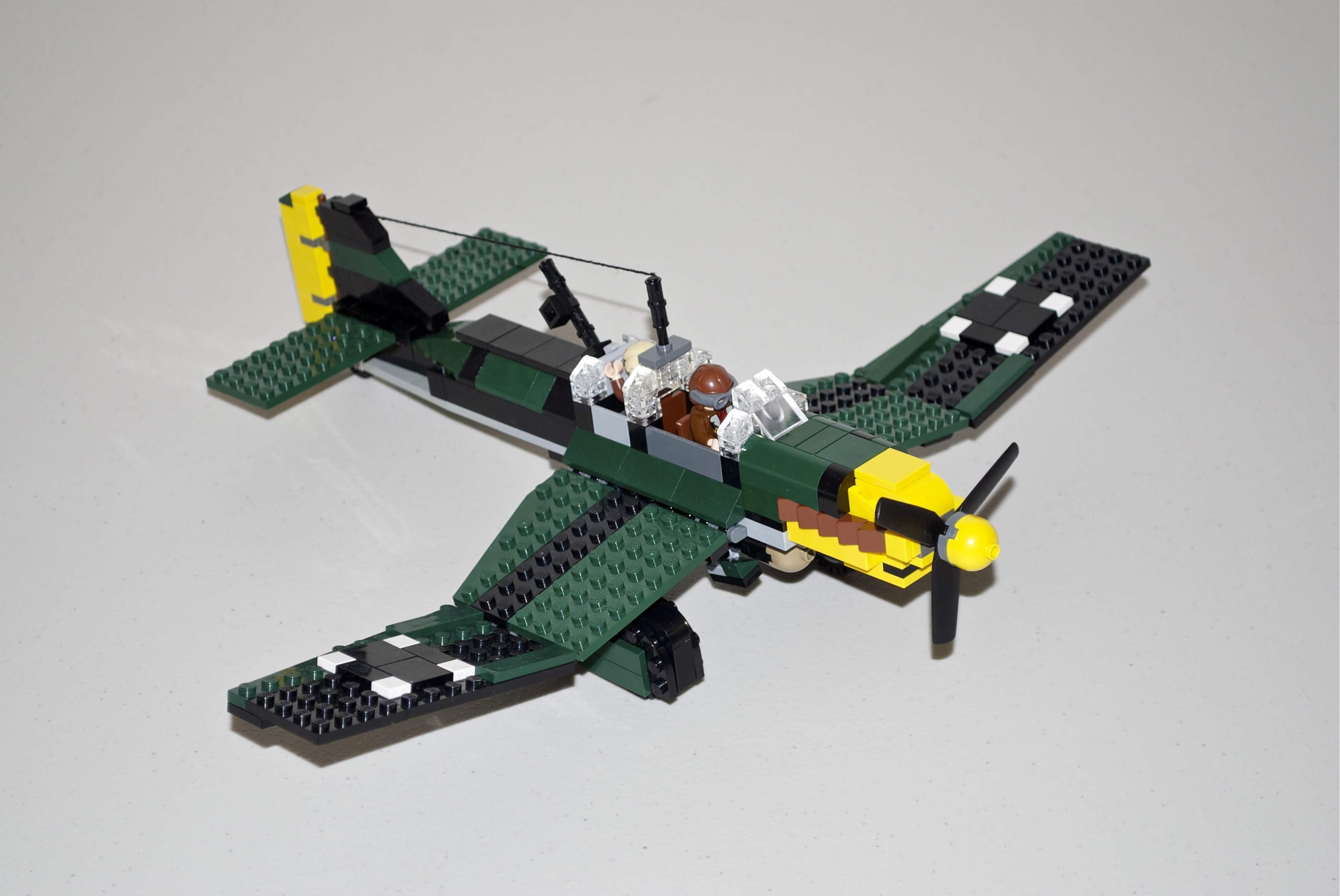 flugzeug lego